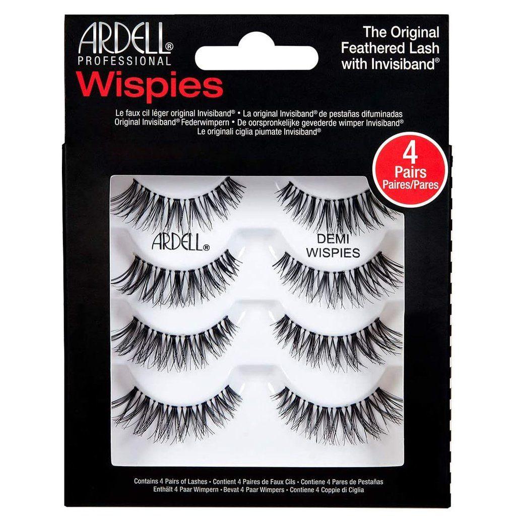 ardell demi wispie fake eyelashes cruelty free makeup