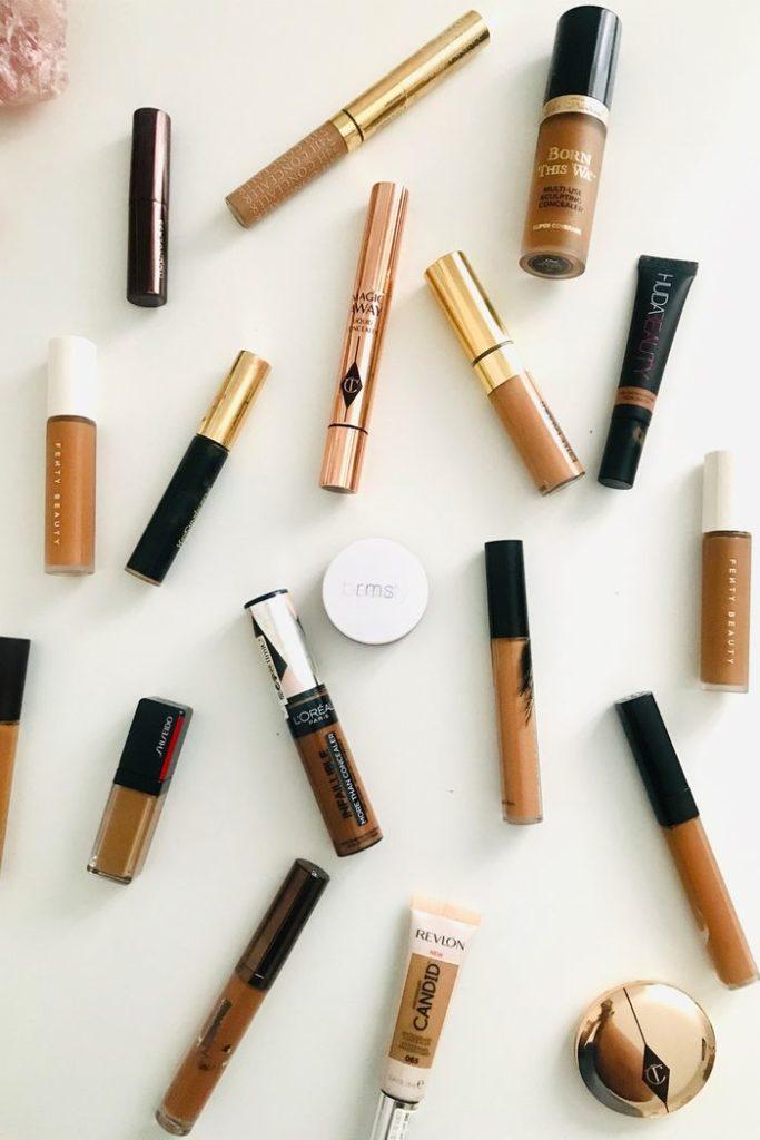 concealers for a makeup artist's kit
